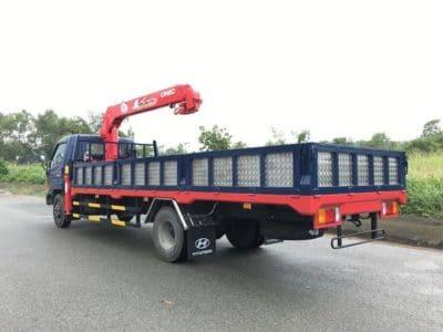 xe tải hyundai gắn cẩu