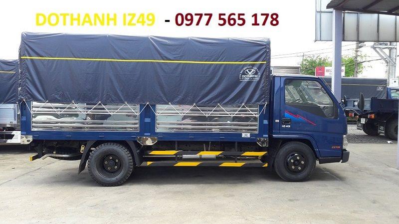 xe tải iz49 2.4 tấn thùng bạt