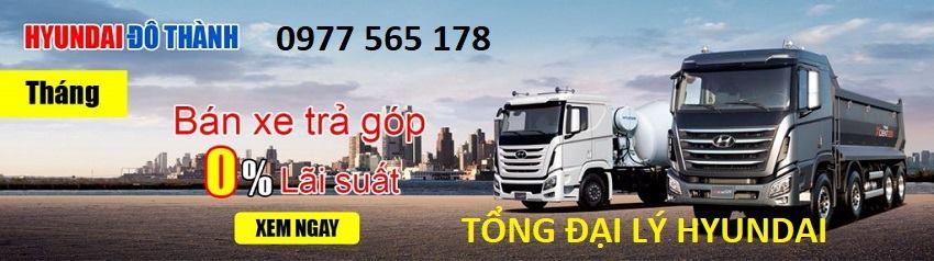 bảng giá xe tải hyundai 8 tấn