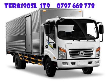 xe tải 1.9 tấn thùng dài