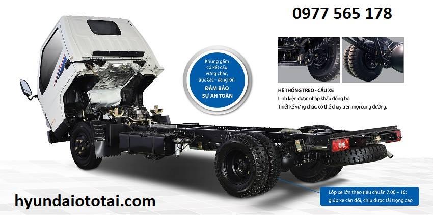 xe tải iz49 2.4 tấn thùng lửng