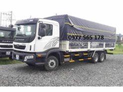 xe tải 3 chân Daewoo 14 tấn