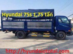xe tải hyundai 75s thùng mui bạt