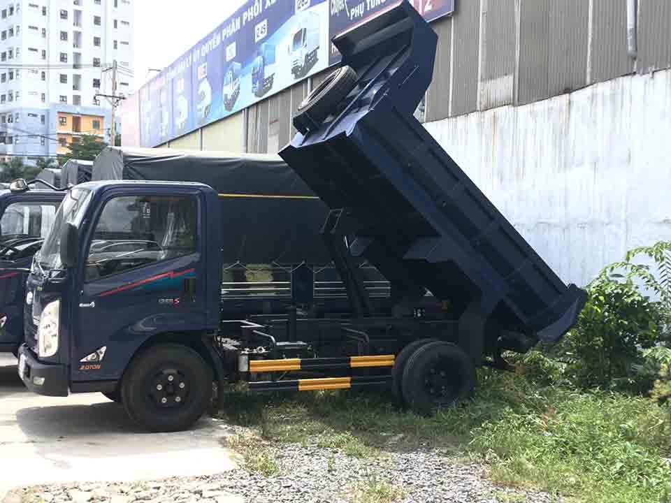 xe tải ben 1.9 tấn iz65 gold
