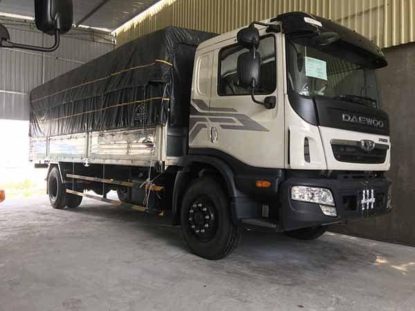 xe tải thùng 9 tấn