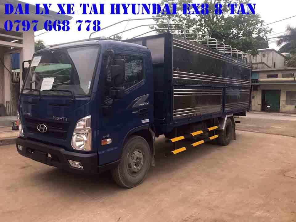 bảng báo giá xe tải hyundai 8 tấn