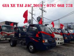 giá xe tải jac 2019