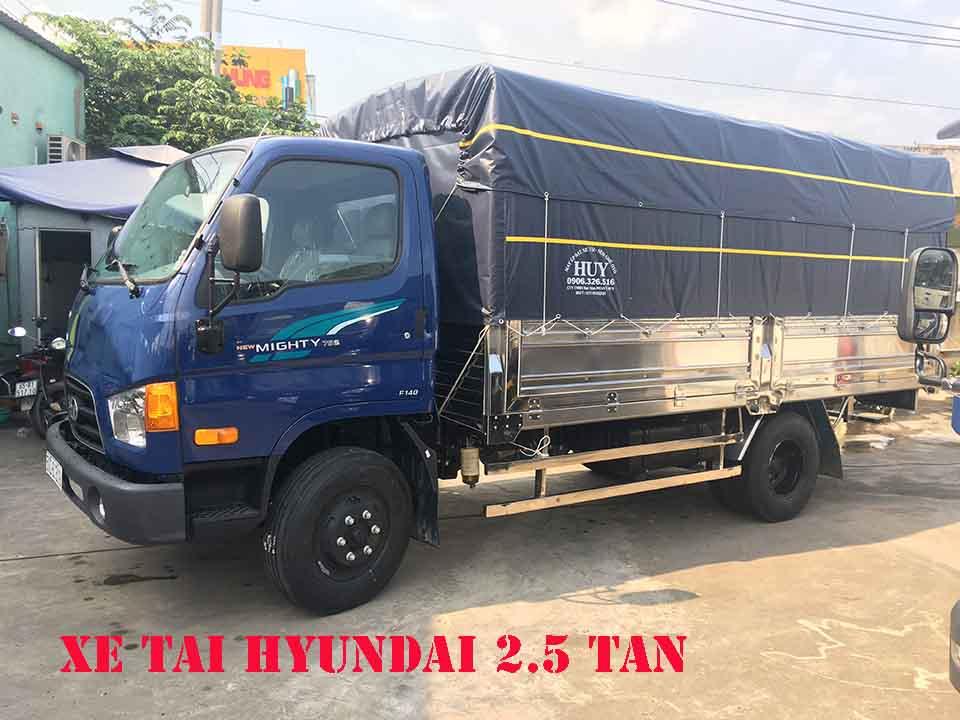giá xe tải 2.5 tấn
