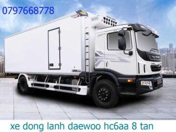 daewoo 9 tấn đông lạnh
