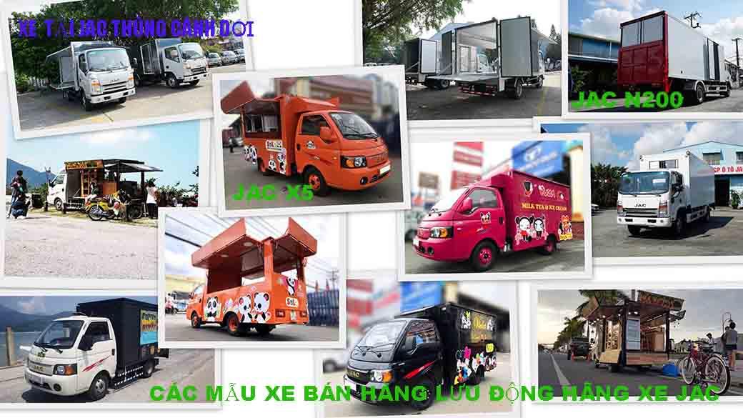 xe tải bán hàng lưu động
