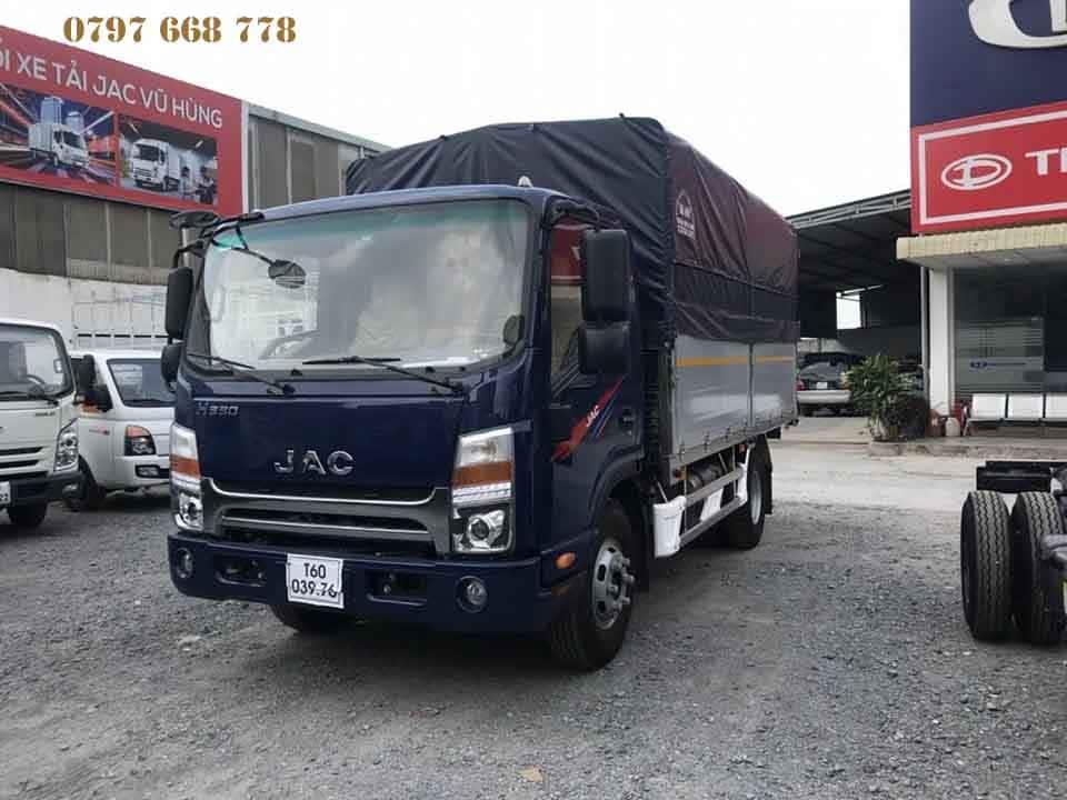 xe tải jac n350